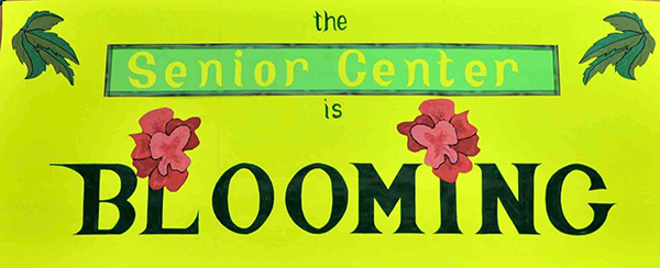 Bainbridge Island Senior Center is blooming!